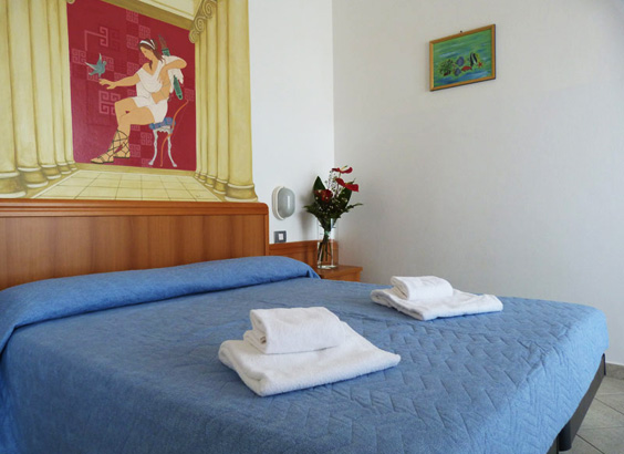 The rooms Hotel Fano 3 stars | Casadei